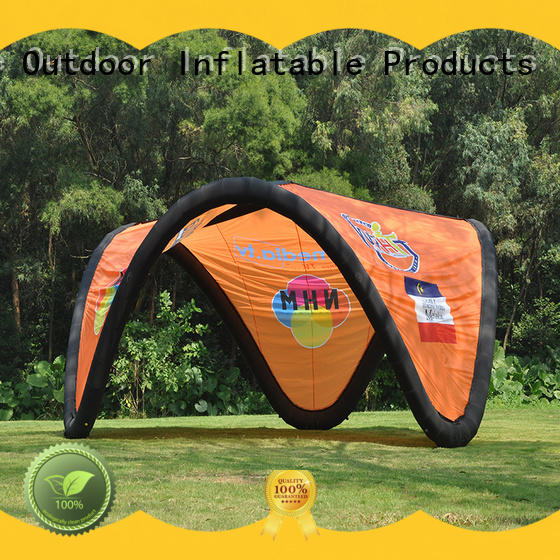 waterproof inflatable tents with electric pump for advertising