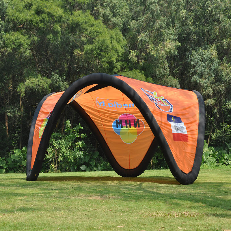 Inflatable V tent 4mx4m