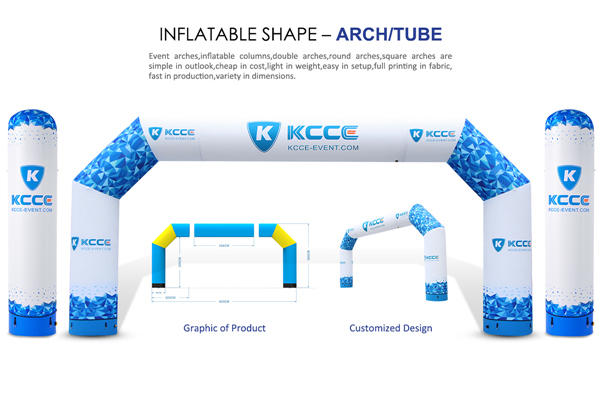 inflatable race arch, professional event arch, inflatable start line company