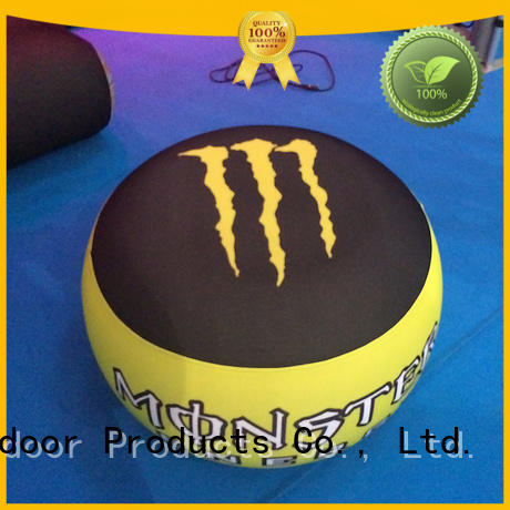 professional inflatable pouffe with pvc for outdoor event KCCE