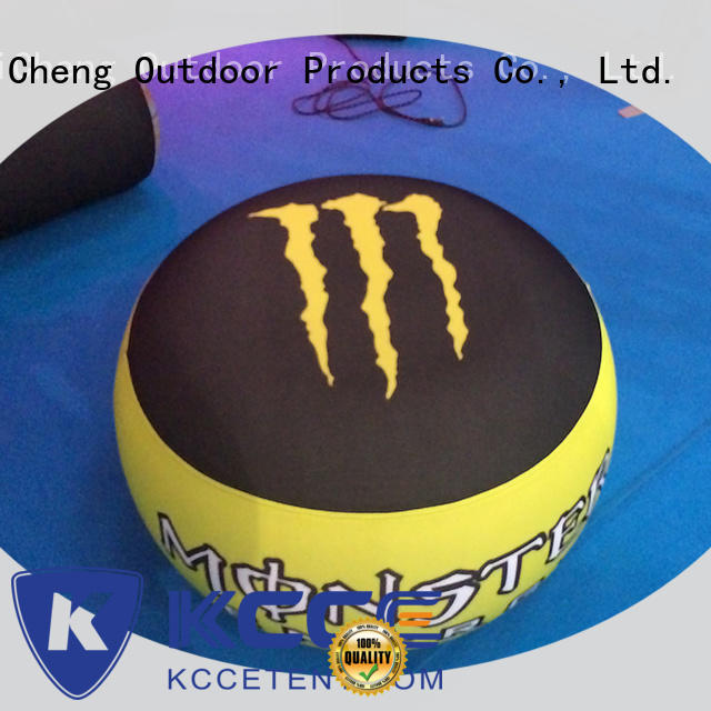 KCCE custom inflatable ottoman footstool for busniess for sale