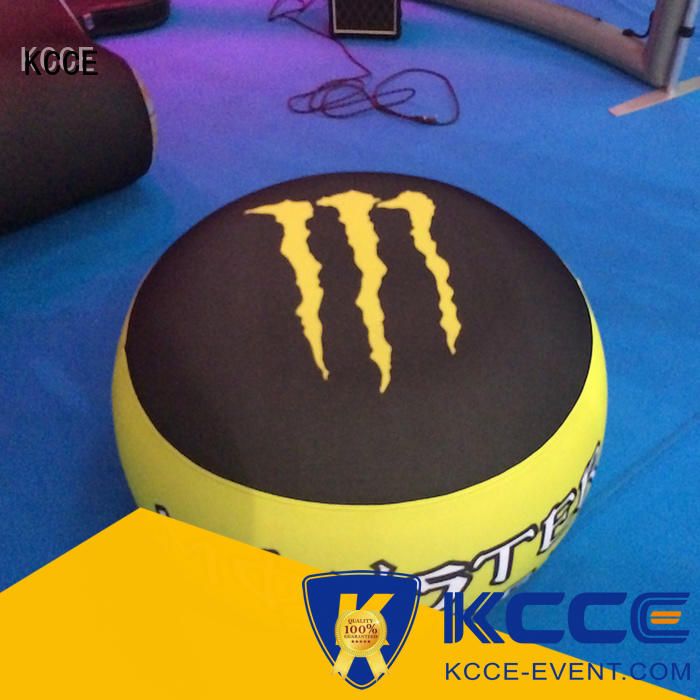 KCCE best inflatable ottoman footstool company for outdoor event