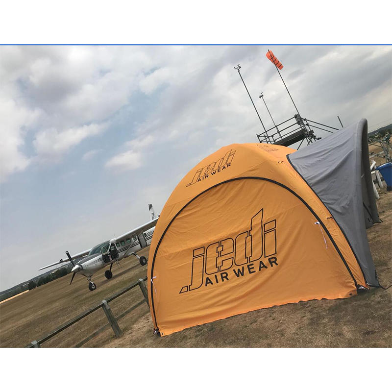 Inflatable X tent 4mX4m