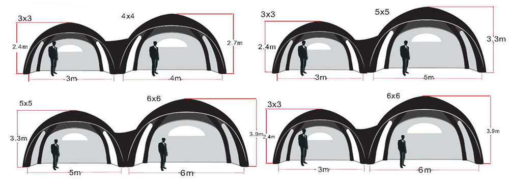 KCCE air dome tent supplier for party-11