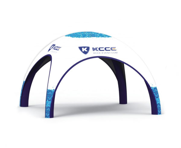 KCCE printed blow up tents for sale canopy for trade show-15