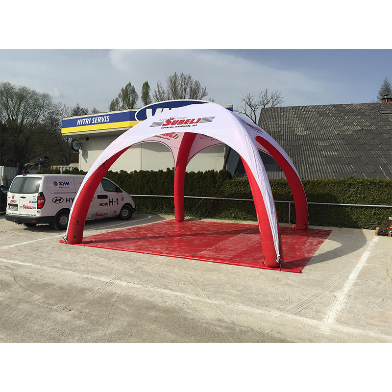 Inflatable X tent 6mX6m