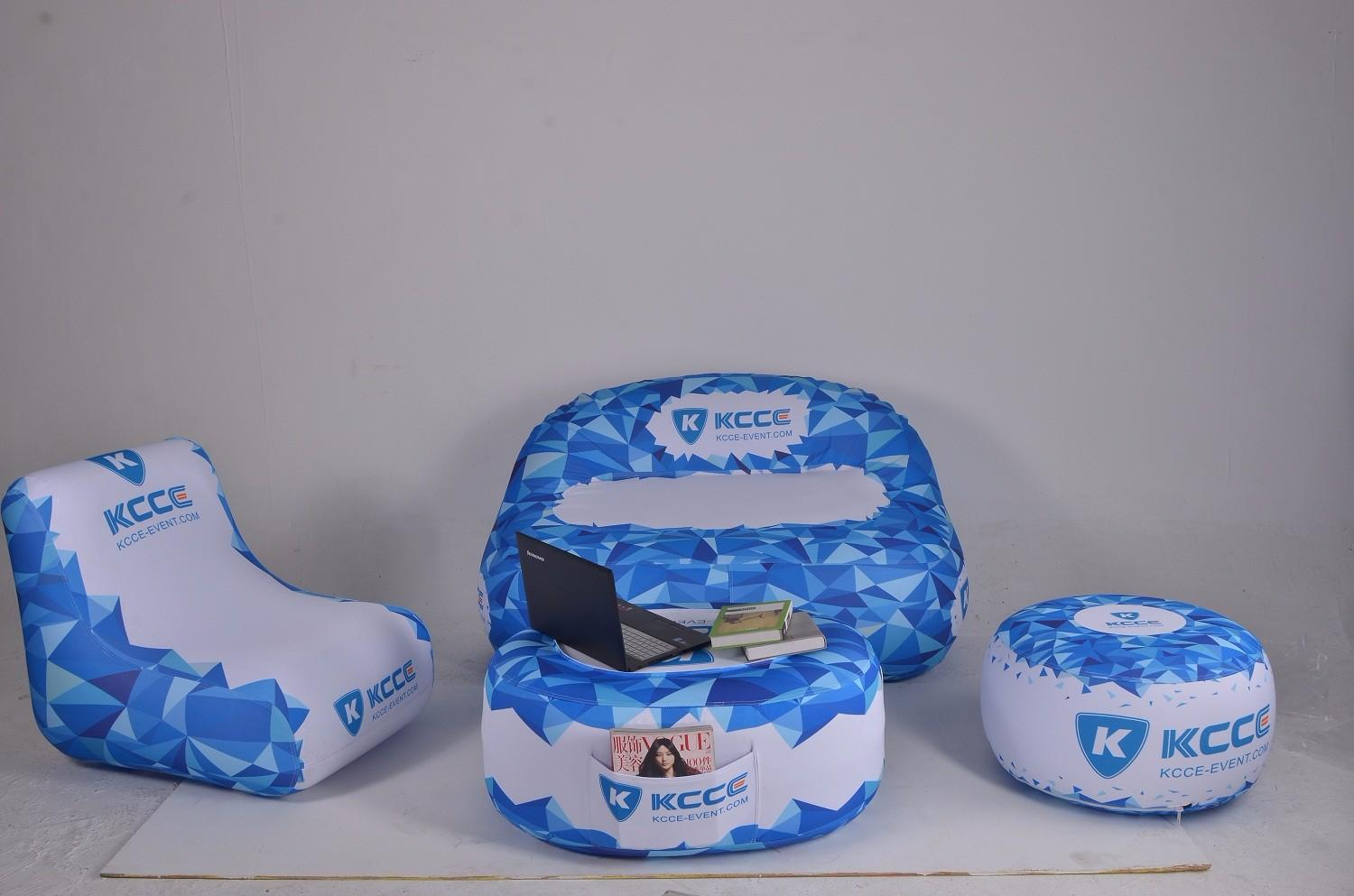 KCCE custom inflatable ottoman company for sale