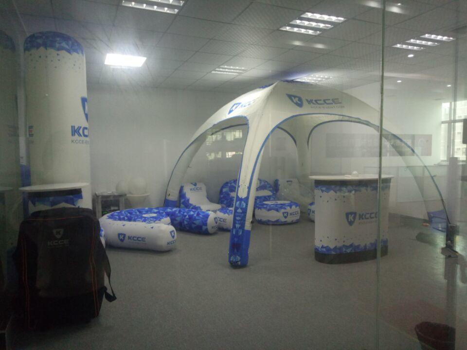 KCCE inflatable furniture company for outdoor promotion event