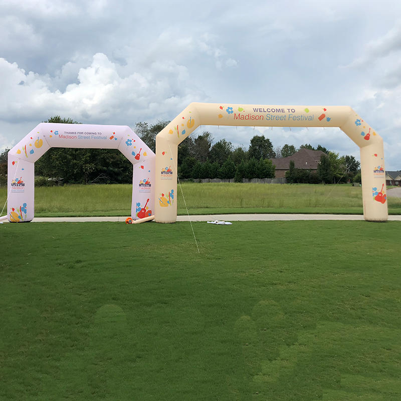 Wholesale inflatable race arch inflatable arch start finish
