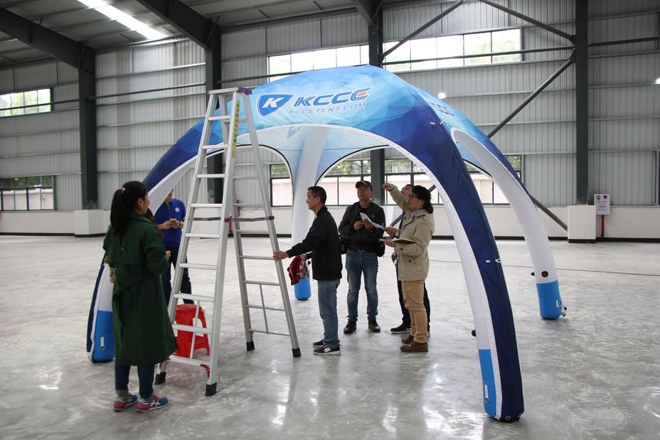 How to Assemble and Disassemble of Inflatable Tent