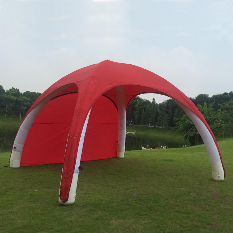 Outdoor advertising equipment Inflatable spider tent for sale in Alibaba