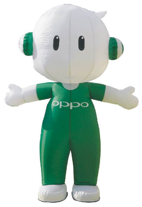 Inflatable Cartoon of OPPO brand