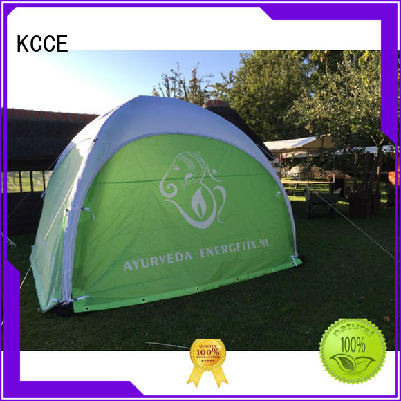KCCE inflatable canvas dome tent canopy trade