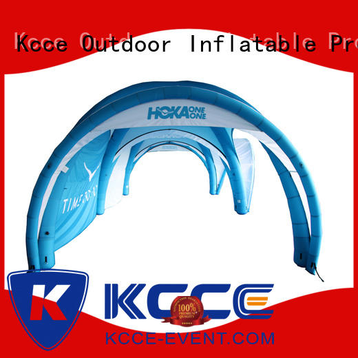 KCCE tents inflatable tents for sale color advertising