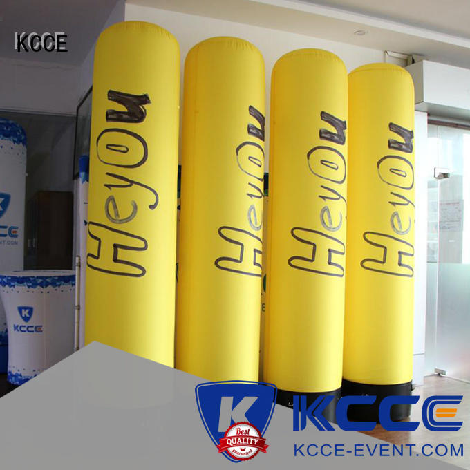 KCCE customized inflatable tubes new for promotion