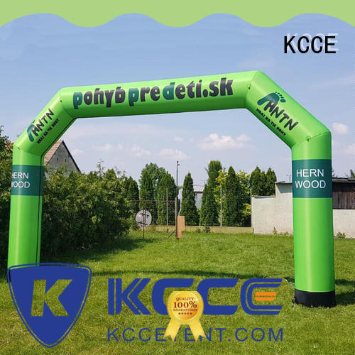Custom print promotion event promotion inflatable arch for marathon