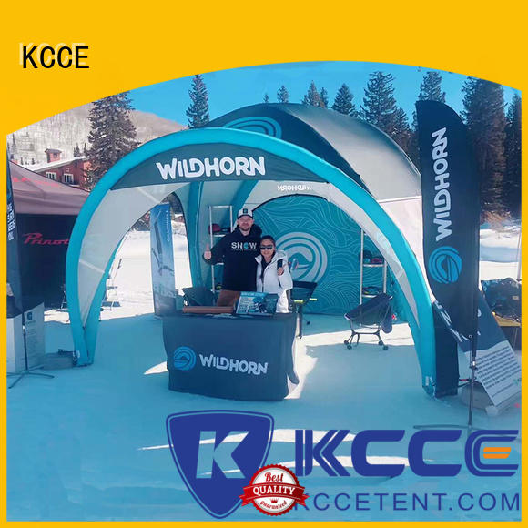 KCCE tube inflatable tents supplier for advertising
