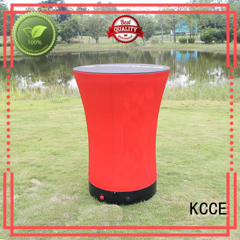 KCCE colorful inflatable furniture barrel for sale