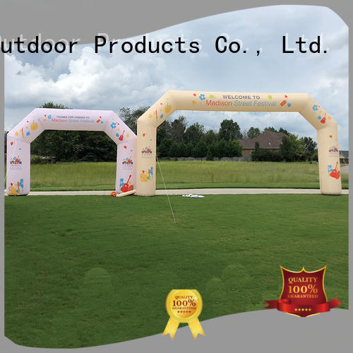 KCCE inflatable finish line arch for sale