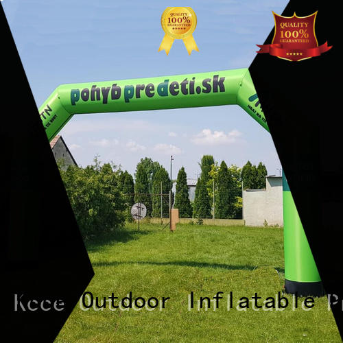 KCCE inflate gate with four tubes for outdoor activities
