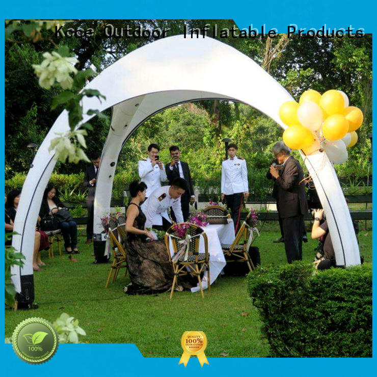 KCCE latest inflatable canopy manufacturer for party