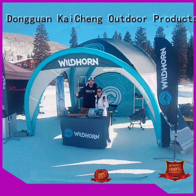 KCCE inflatable tents supply for sale