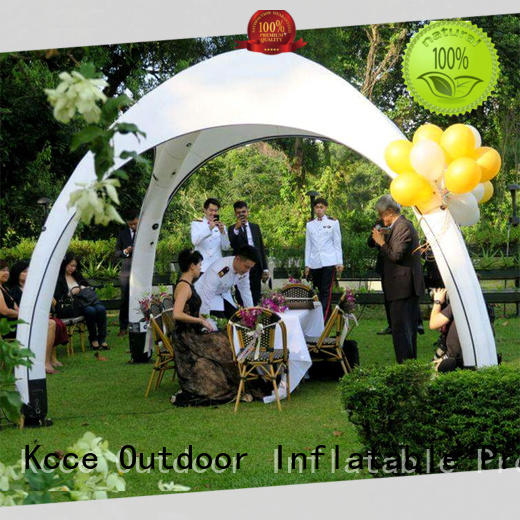 KCCE inflatable tents factory for event