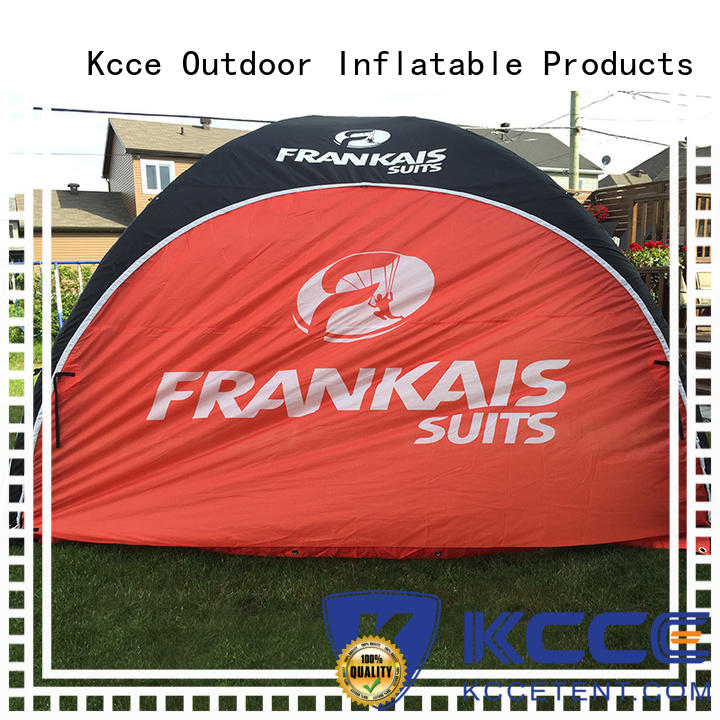 KCCE blow up tent canopy for advertising