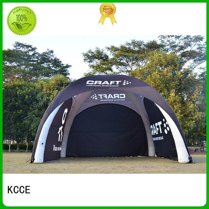 KCCE printed blow up tent manufacturer for event