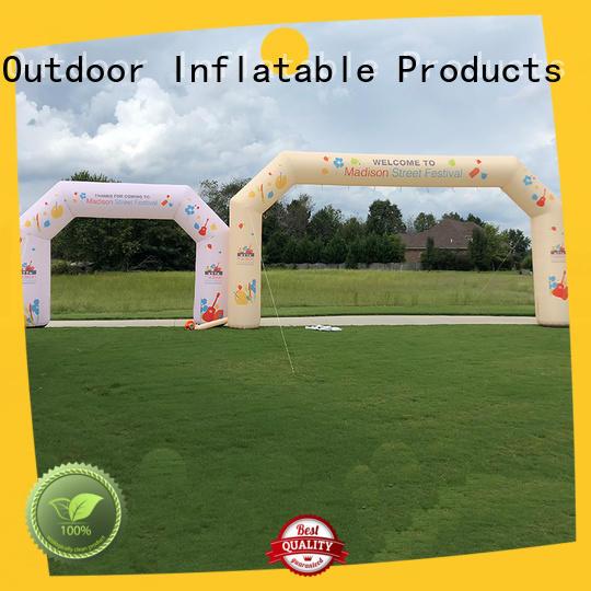 custom inflatable start finish line company for advertising
