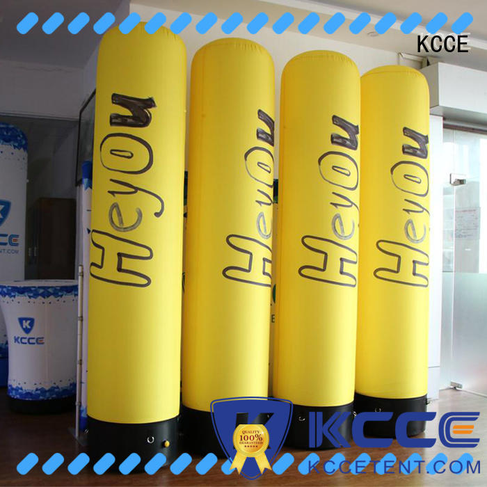 KCCE inflatable tubes with led light for advertising