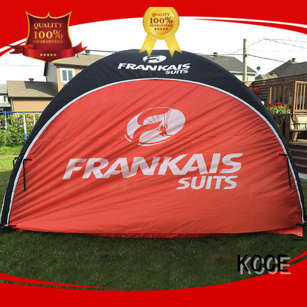 KCCE fabric inflatable advertising tent supplier for party