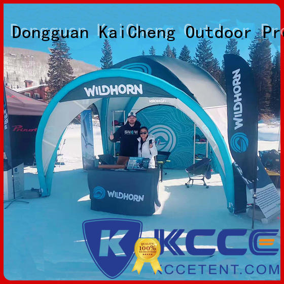 KCCE inflatable tents with electric pump for event