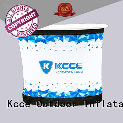 KCCE stylish Inflatable desk with led light inside for promotion