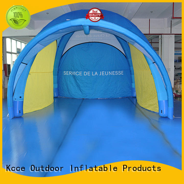 KCCE blow up tent supply for event