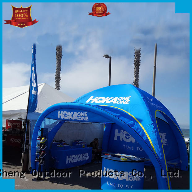 KCCE pop up inflatable shelter company for advertising