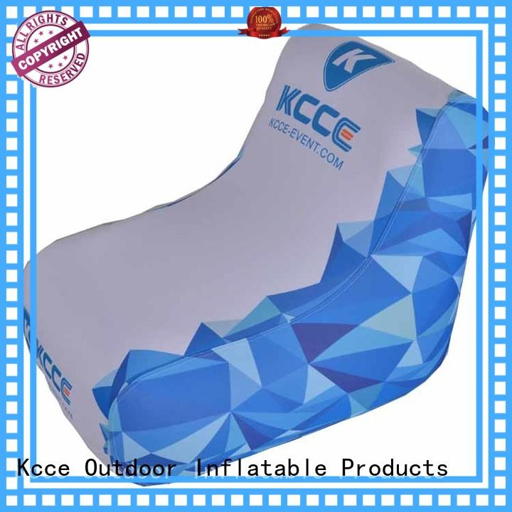 KCCE new inflatable outdoor chair supply for sport