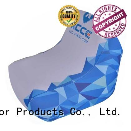 KCCE advertising inflatable outdoor chair company for sport