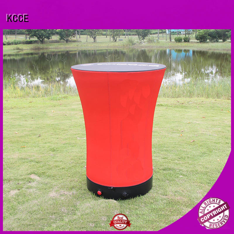 KCCE designed inflatable furniture with water inside for outdoor promotion event