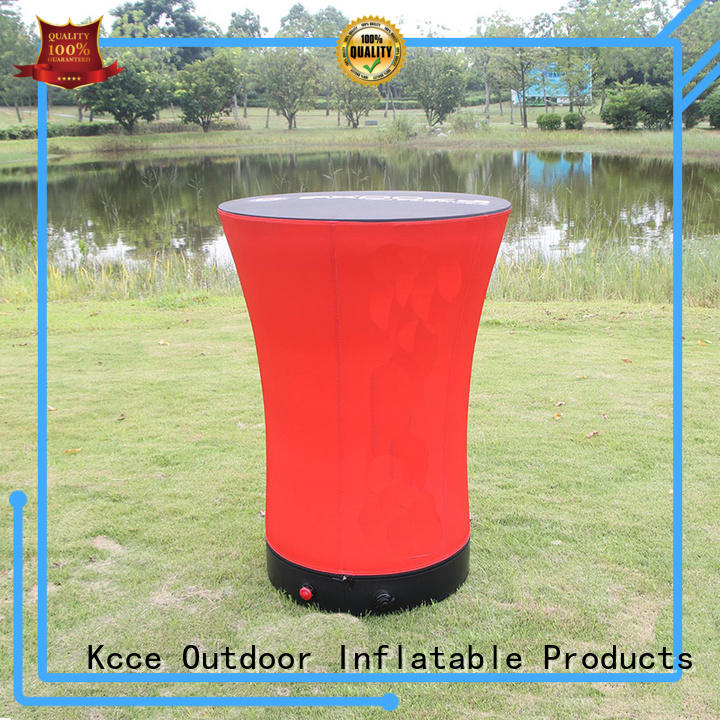 KCCE top inflatable furniture barrel for outdoor promotion event