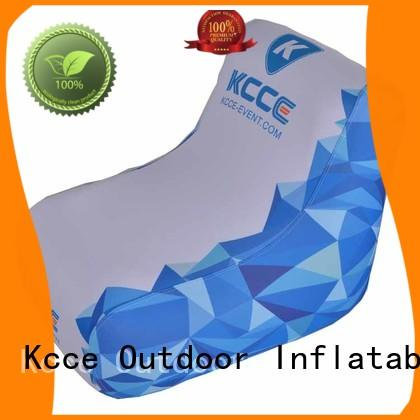 KCCE inflatable seat full color pinted for promotion