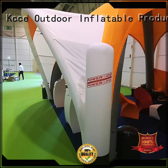 KCCE self inflating tent factory for trade show
