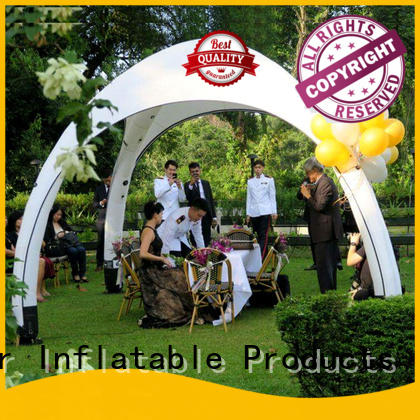KCCE roof custom inflatable dome tent promotional