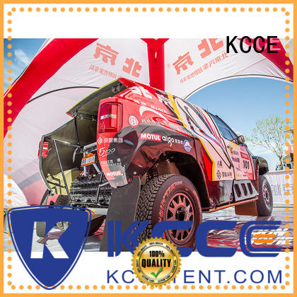 KCCE self inflating tent supplier for advertising