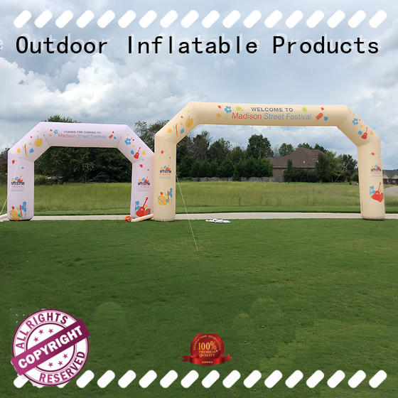 KCCE double inflatable display hot sale for marathon