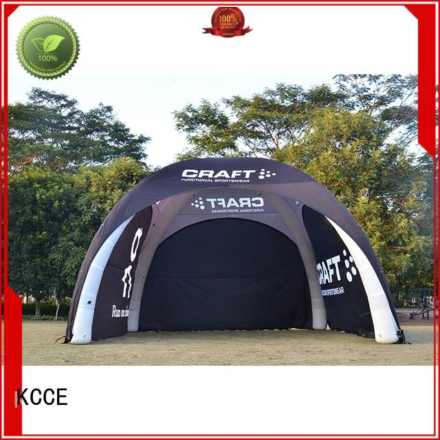 KCCE custom inflatable dome tents price supplier for event