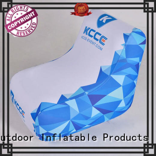 seater inflatable sofa chair display KCCE