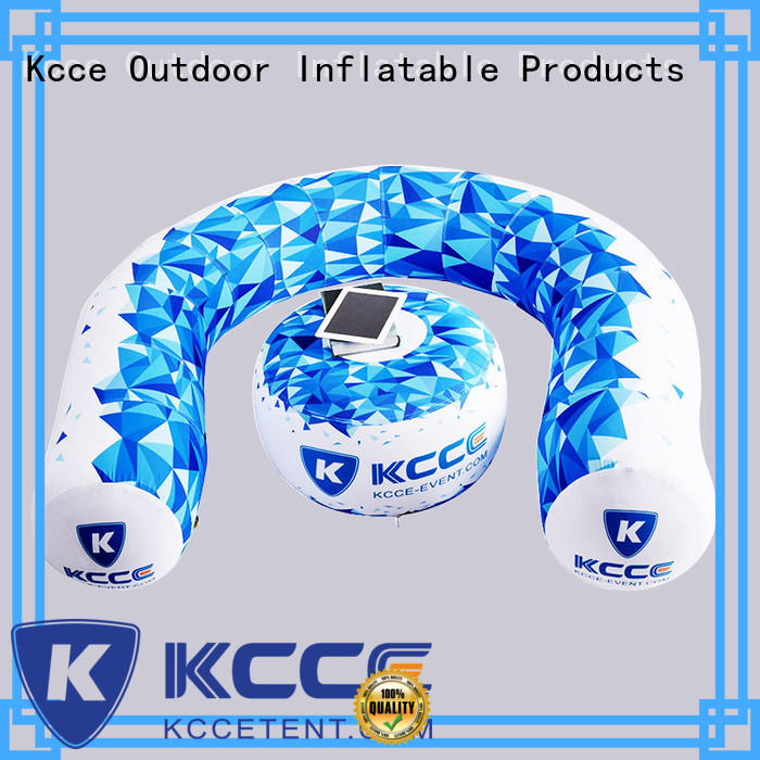 double layer inflatable air sofa factory for trade show