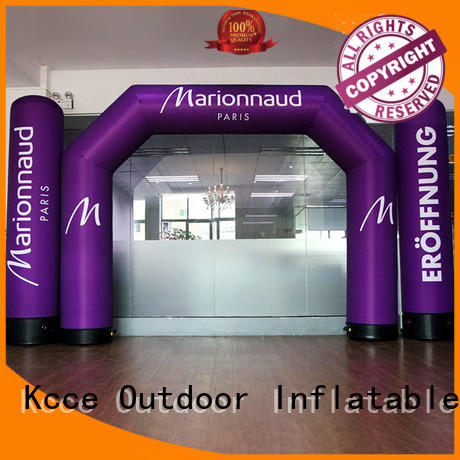 KCCE squre inflatable race gantry for advertising