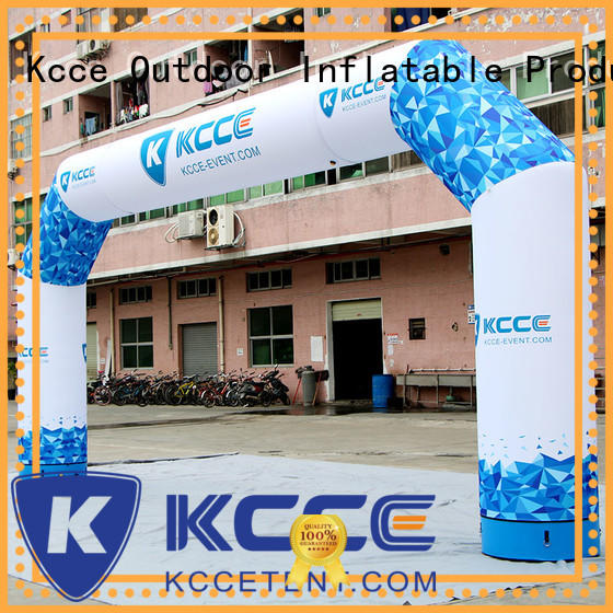 combined inflatable finish line arch price manufacturer for advertising KCCE